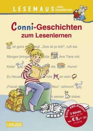 Conni-Geschichten zum Lesenlernen