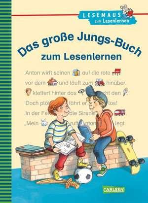 Das grosse Jungs-Buch zum Lesenlernen