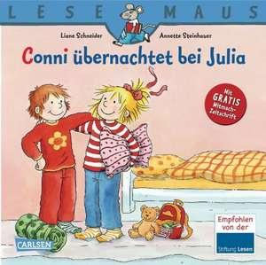 Conni übernachtet bei Julia de Liane Schneider