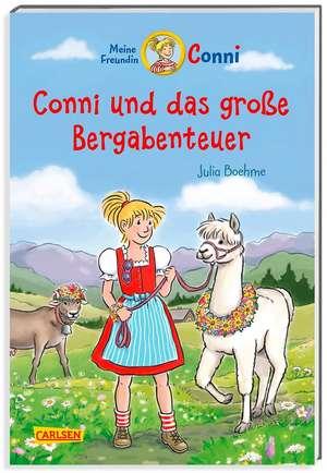 Conni-Erzählbände 30: Conni und das große Bergabenteuer de Julia Boehme