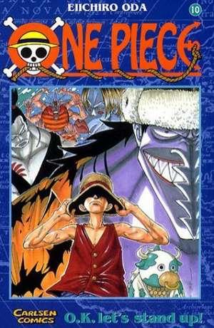 One Piece 10. O.K. Let's stand up! de Eiichiro Oda
