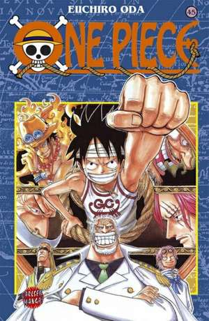 One Piece 45. Ich kann mir vorstellen, wie ihr euch fühlt! de Eiichiro Oda