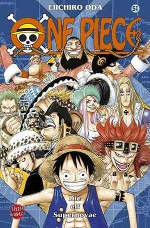 One Piece 51. Die elf Supernovae de Eiichiro Oda