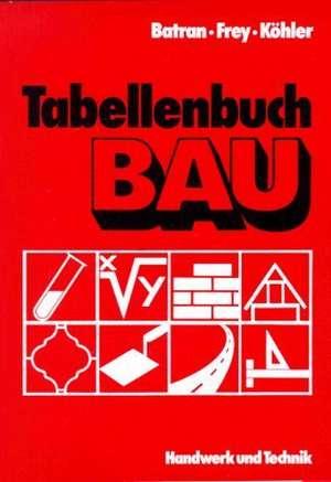 Tabellenbuch Bau