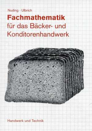 Fachmathematik Baeckerei und Konditorei