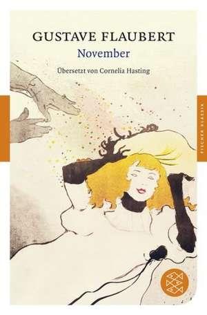 November de Gustave Flaubert