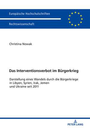 Das Interventionsverbot im Bürgerkrieg de Christina Nowak