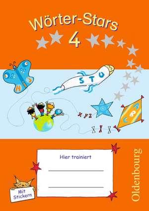 Woerter-Stars 4. Schuljahr. UEbungsheft
