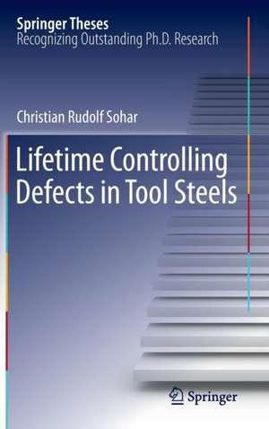 Lifetime Controlling Defects in Tool Steels de Christian Rudolf Sohar