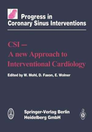 CSI - A New Approach to Interventional Cardiology