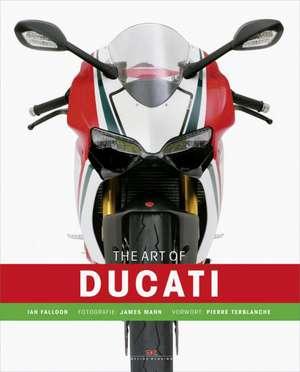 The Art of Ducati de Ian Falloon