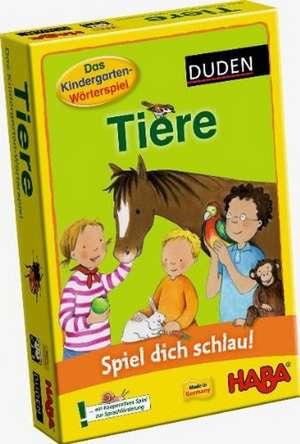 Spiel dich schlau! Kindergarten-Woerterspiel: Tiere