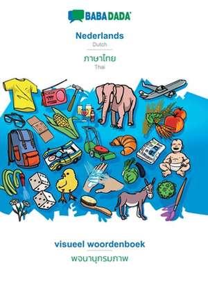 BABADADA, Nederlands - Thai (in thai script), visueel woordenboek - visual dictionary (in thai script) de  Babadada Gmbh