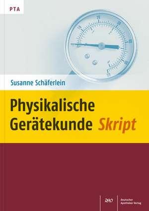 Physikalische Geraetekunde Skript