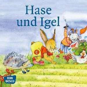 Hase und Igel. Mini-Bilderbuch. de Brüder Grimm