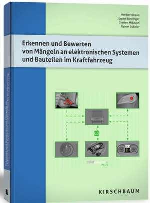 Erkennen und Bewerten von Maengeln an elektronischen Systemen und Bauteilen im Kraftfahrzeug