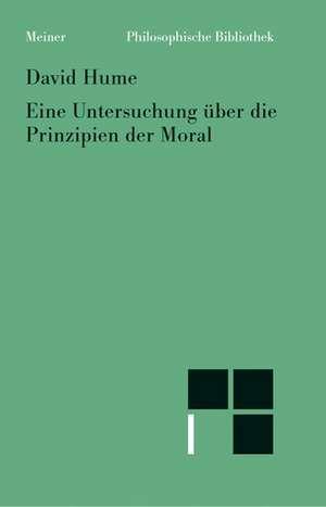 Untersuchung ueber die Prinzipien der Moral