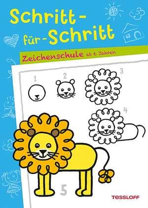 Schritt-fuer-Schritt. Zeichenschule ab 6 Jahren