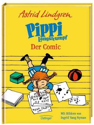 Pippi Langstrumpf, Der Comic de Astrid Lindgren