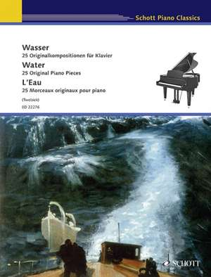 Water:  25 Original Piano Pieces de Monika Twelsiek