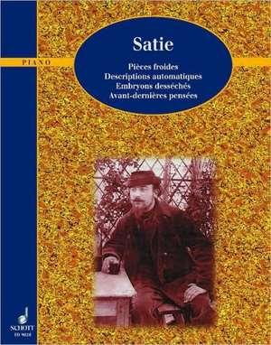 Klavierwerke de Erik Satie