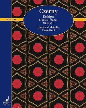 Etudes Op. 751:  Training, Tips & Tricks for Advanced Drummers de Carl Czerny