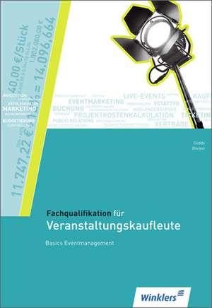 Fachqualifikation fuer Veranstaltungskaufleute. Schuelerbuch