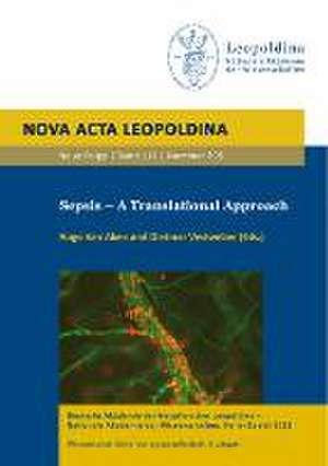 Sepsis - A Translational Approach