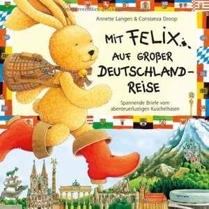 Mit Felix auf grosser Deutschlandreise