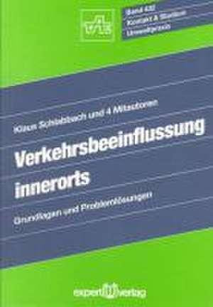 Verkehrsbeeinflussung innerorts de Klaus Schlabbach