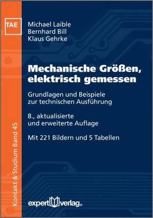 Mechanische Größen, elektrisch gemessen de Michael Laible