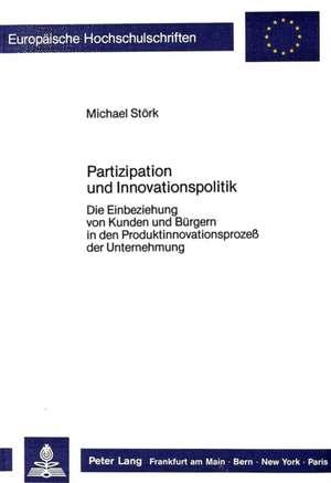 Partizipation Und Innovationspolitik