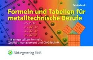 Formeln und Tabellen fuer metalltechnische Berufe