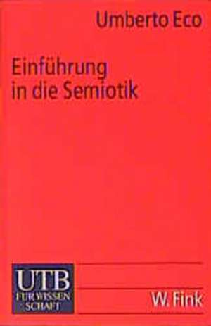 Einfuehrung in die Semiotik
