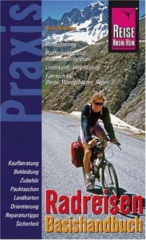 Radreisen. Basishandbuch de Sven Bremer
