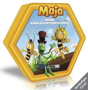 Biene Maja - Kindergartenfreundebuch in Wabenform