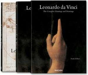 Leonardo da Vinci The Complete Paintings and Drawings (2 Vol.) de Frank Zollner