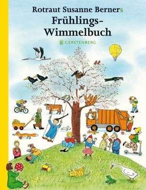 Hoinari prin anotimpuri Primăvara Midi 13 x 17 cm: Frühlings-Wimmelbuch de Rotraut Susanne Berner