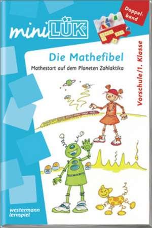 miniLÜK. Mathe-Fibel: (Doppelband) de Gabriele Achilles