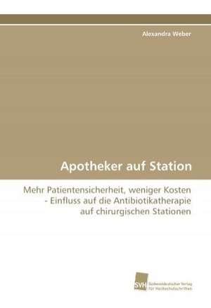 Apotheker auf Station