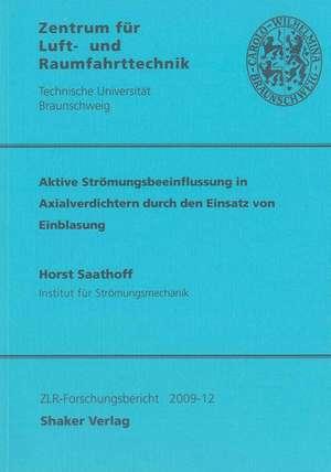 Aktive Strömungsbeeinflussung in Axialverdichtern durch den Einsatz von Einblasung de Horst Saathoff