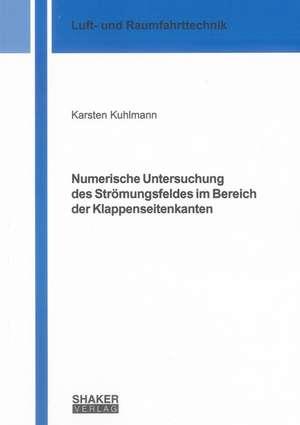 Numerische Untersuchung des Strömungsfeldes im Bereich der Klappenseitenkanten de Karsten Kuhlmann