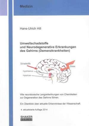 Umweltschadstoffe und Neurodegenerative Erkrankungen des Gehirns (Demenzkrankheiten)