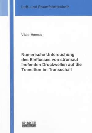 Numerische Untersuchung des Einflusses von stromauf laufenden Druckwellen auf die Transition im Transschall de Viktor Hermes