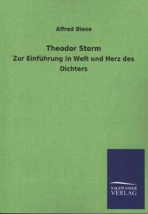 Theodor Storm de Alfred Biese