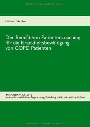 Der Benefit von Patientencoaching fuer die Krankheitsbewaeltigung von COPD Patienten