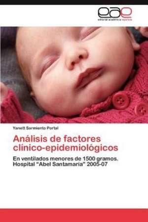 Analisis de Factores Clinico-Epidemiologicos