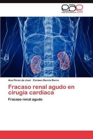 Fracaso Renal Agudo En Cirugia Cardiaca