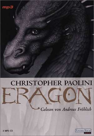 Eragon 01. Das Vermaechtnis der Drachenreiter. 3 MP3-CDs