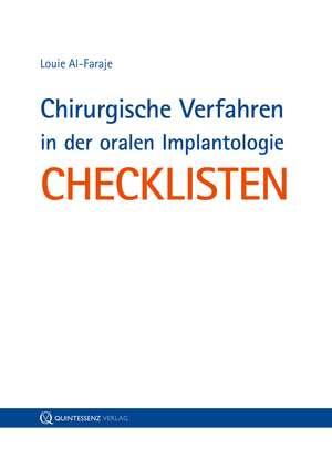 Chirurgische Verfahren in der oralen Implantologie